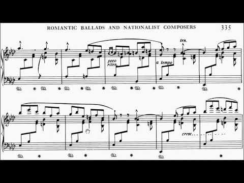 ABRSM Piano 2019-2020 Grade 8 C:12 C12 Mason Lullaby Op.10 Sheet Music