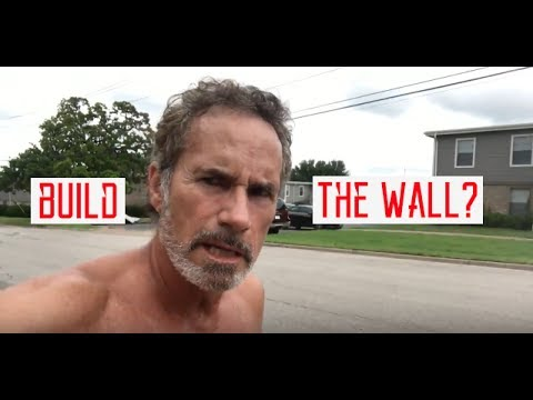 """David Heavener says """"BUILD THAT WALL!""""...But not the kind you think!"""