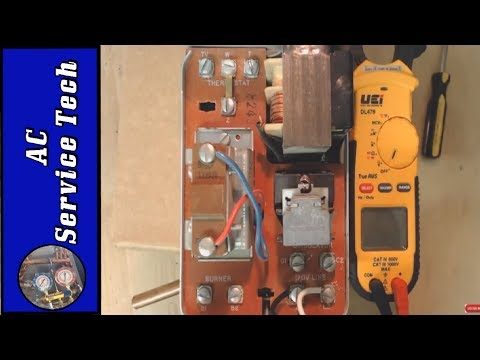 Boiler Aquastat Relay Troubleshooting and Control Wiring!