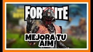 HOW TO IMPROVE YOUR AIM IN FORTNITE / BE THE BEST