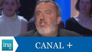 Dominique Farrugia, directeur des programmes de Canal + - Archive INA