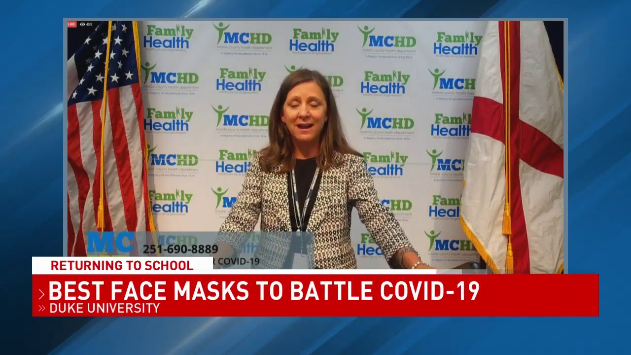 Alabama health officials weigh in on the best and worst masks to wear - NBC 15 WPMI