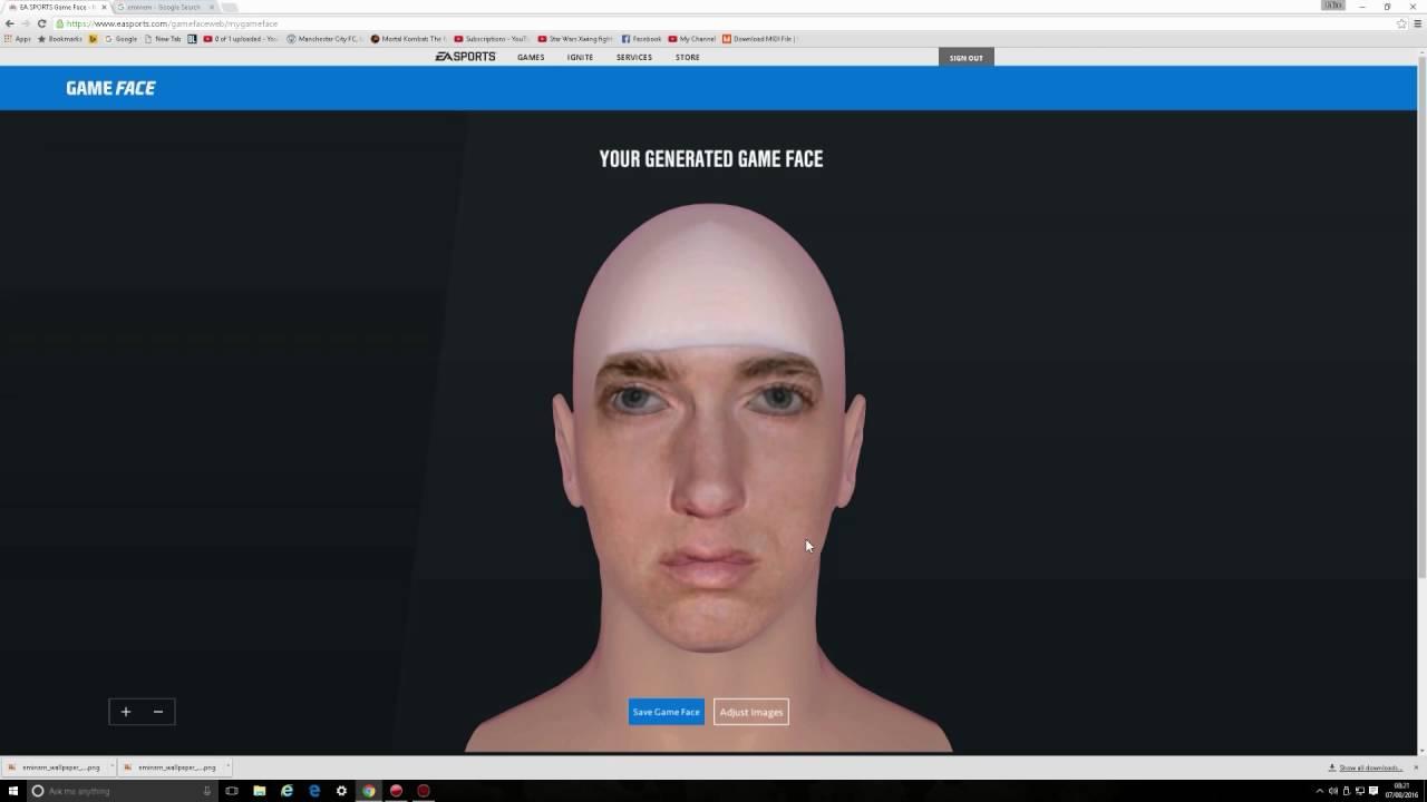 ufc 2 gameface