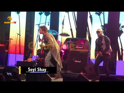 SEYI SHAY'S PERFORMANCE AT ONE NIGHT STAND WITH ADEKUNLE GOLD