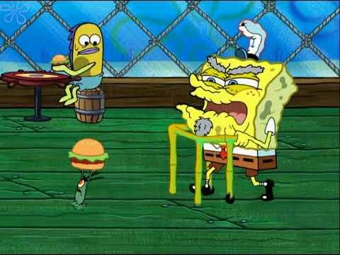 You Kids Get Off My Lawn (SpongeBob Clip)