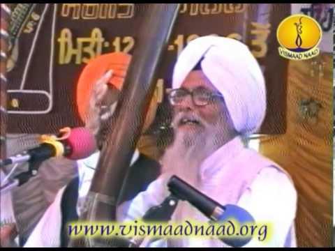 Raag Bhairow_ Prof Kartar Singh : Adutti Gurmat Sangeet Samellan 1996