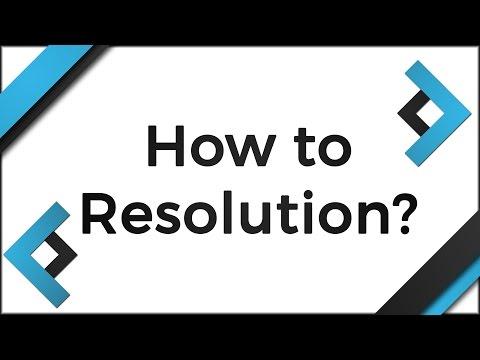 CSGO - How to Choose a Resolution/16:9 vs 4:3