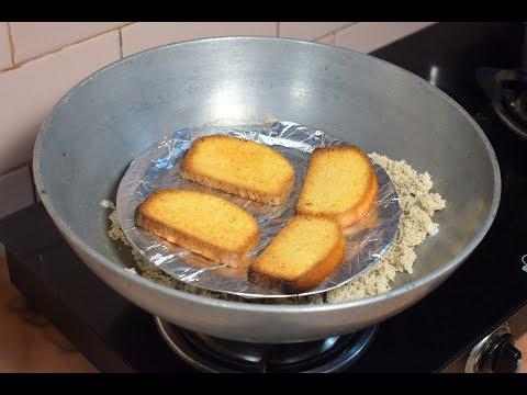 टोस्ट ( Rusk ) रेसिपी बिना एग्ग और ओवन के -Britannia Style Cake Rusk | Recipeana