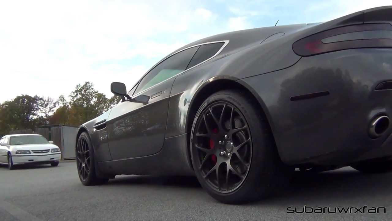 Supercharged Aston Martin V8 Vantage Youtube