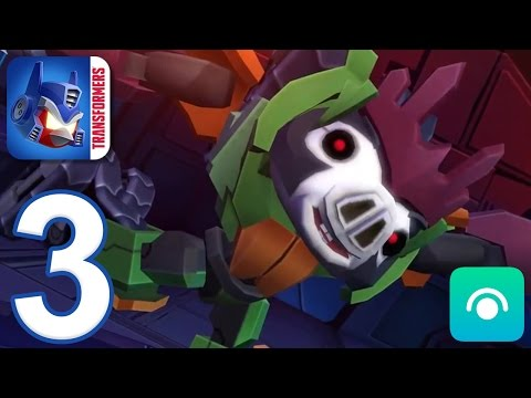 Angry Birds Transformers - Gameplay Walkthrough Part 3 - Saving Bludgeon (iOS, Android)