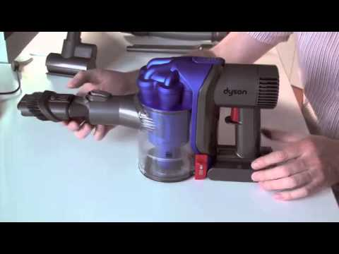 dyson dc34 akkusauger test video youtube. Black Bedroom Furniture Sets. Home Design Ideas
