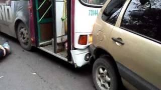 Видео 9 сентября 2011 года авария на пр.Гагарина часть 1