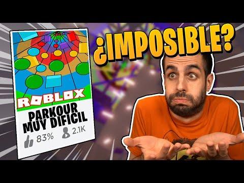¿ ES el PARKOUR MAS DIFICIL de ROBLOX ? QUIERO INTENTARLO... | KraoESP Roblox