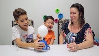 Brincando com o jogo BALEIA BALOON | Não deixe o balão voar 🎈