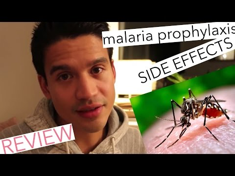 Malaria Prophylaxis - Malarone | Side Effects | Personal Review