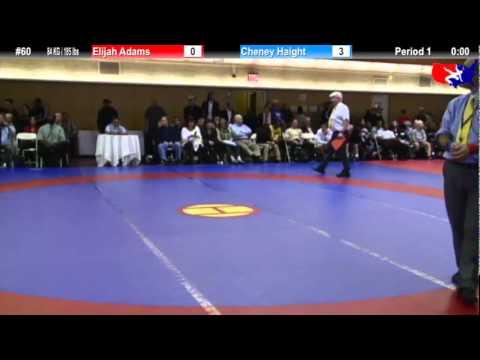 NYAC 84 KG / 185 lbs: Elijah Adams vs. Cheney Haight