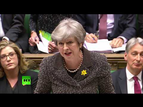 LIVE: Theresa May holds PMQs as Tory MPs threaten to rebel over customs union