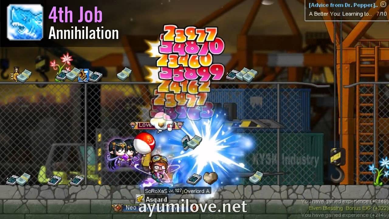 MapleStory Thunder Breaker aka Striker Skill Build Guide   AyumiLove