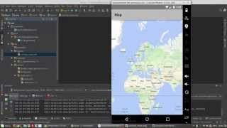 Android google maps api v2 kullanımı