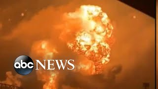 Oil refinery explosions in Philadelphia