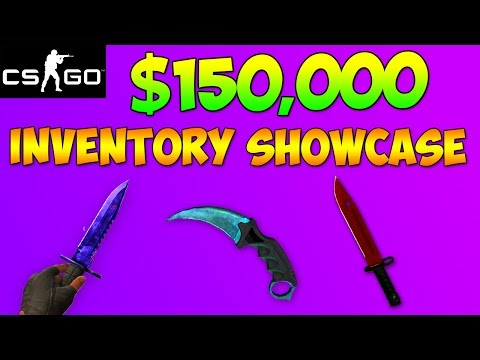 CS GO - The Most Expensive Inventory In Existence! Skyliner's $150,000 Rare CSGO Skins Collection!