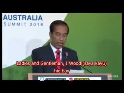 Kualitas Bahasa Inggris Presiden Jokowi