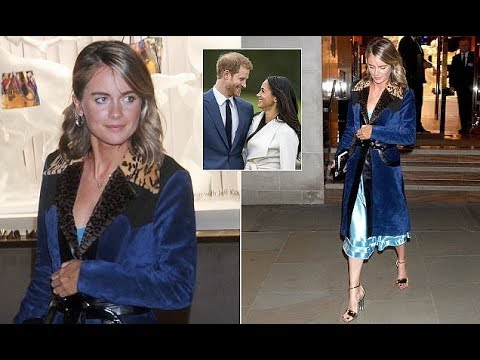 Cressida Bonas parties amid Prince Harry engagement news
