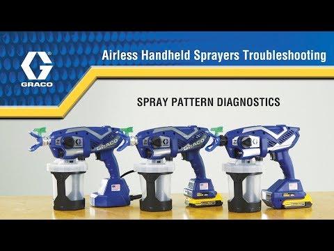 Airless Handheld Sprayer Troubleshooting - 05 - Spray Pattern Diagnostics