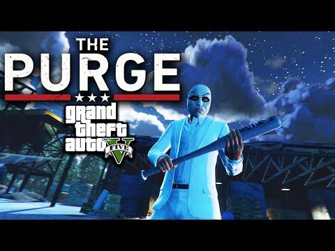The Purge Movie  GTA 5 Edition