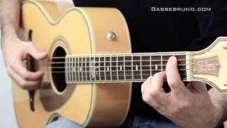 Blues Acoustique #1 - Fender Ron Emory Parlor Guitar - Bruno Tauzin