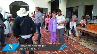 Bingo pro Asilo San José, agosto 11 de 2018