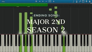 Synthesia piano tutorial for Major 2nd season 2 ED - One by SHE'S Watch the instrumental cover here: https://youtu.be/Qv_J2M_UB9o SUBSCRIBE to see more ...