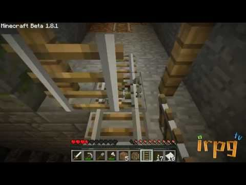 [irpg Minecraft TV] - Episode 10 - ตำนาน Stronghold (part2)