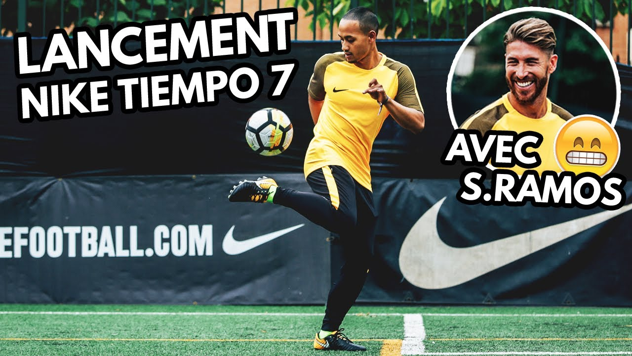 multiple colors best sale large discount VLOG#13 - À Madrid avec Sergio Ramos pour le lancement de la Nike Tiempo 7