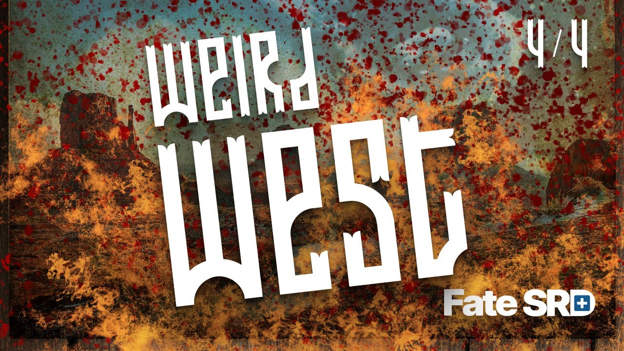 Weird West: The Sting of Truth — Learn to Play the Fate RPG