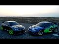 Rc Subaru Impreza 07 WRC 80km/h  Himoto Action