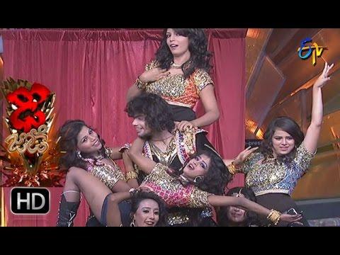 Rahul and Dharsini Performance | Dhee Jodi | 12th April 2017 | ETV Telugu