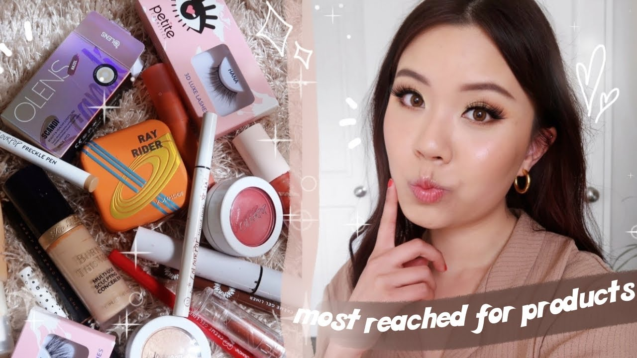 MY MOST REACHED FOR PRODUCTS ✨