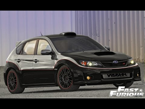 NEED FOR SPEED 2015 SUBARU Impreza WRX FAST AND FURIOUS 4 ...