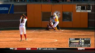 Lady Vol Softball vs Bama Super Regional Game 2