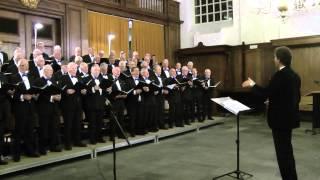Dank U, Chr.mannenkoor Scheveningen dirigent,Jimco Zijlstra koor en samenzang . HD