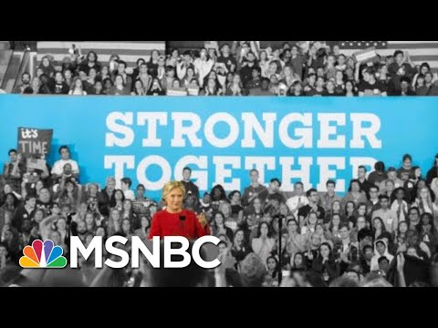 Borrowing From Hillary Clinton,Donald Trump Says We're 'Stronger Together' | The 11th Hour | MSNBC