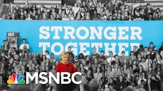 Borrowing From Hillary Clinton, Donald Trump Says We're 'Stronger Together' | The 11th Hour | MSNBC