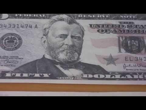 Wer war Ulysses S. Grant ? - Der 50 US-Dollar Schein