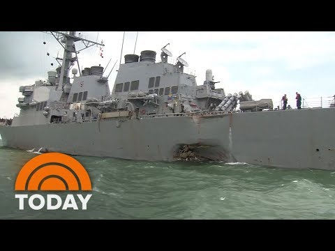 Navy Admiral Relieved Of Duties After Deadly Collisions | TODAY