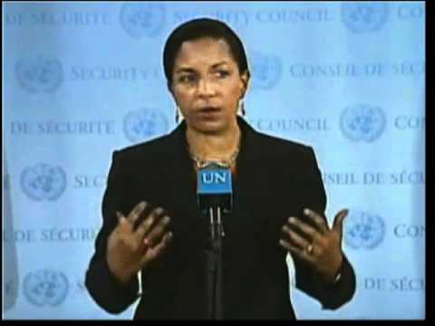 Ambassador Rice Addresses Iran's Nuclear Program