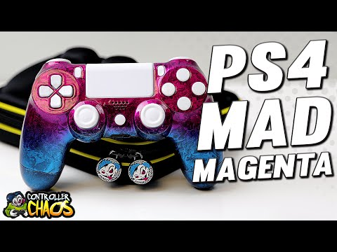 Mad Magenta - Custom Playstation 4 Controllers - Controller Chaos