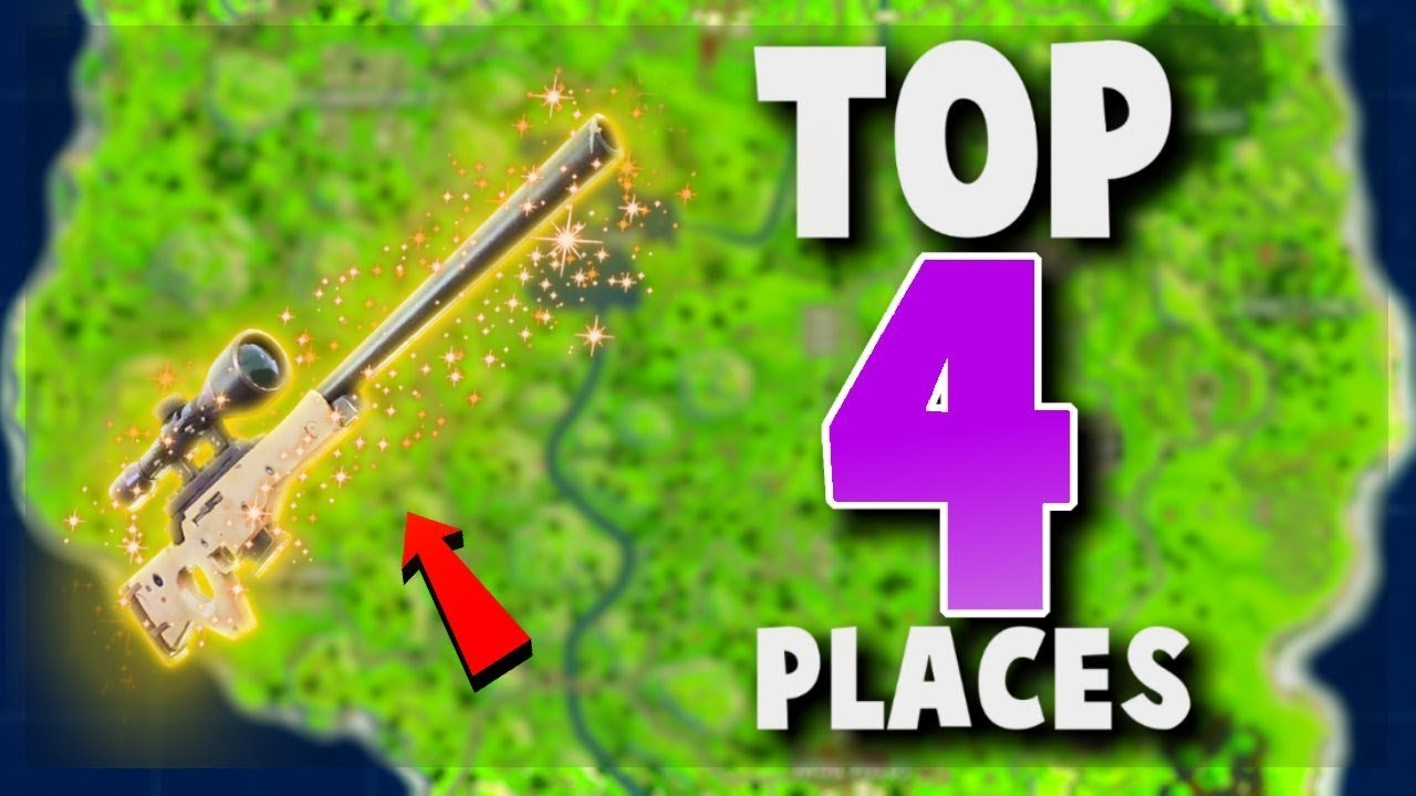Top Places To Find The Best Loot: TOP 4 UNKNOWN Places To Land For LOOT And EASY WINS
