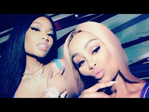 Nicki Minaj On Set Of New Music Video With Blac Chyna | FULL VIDEO