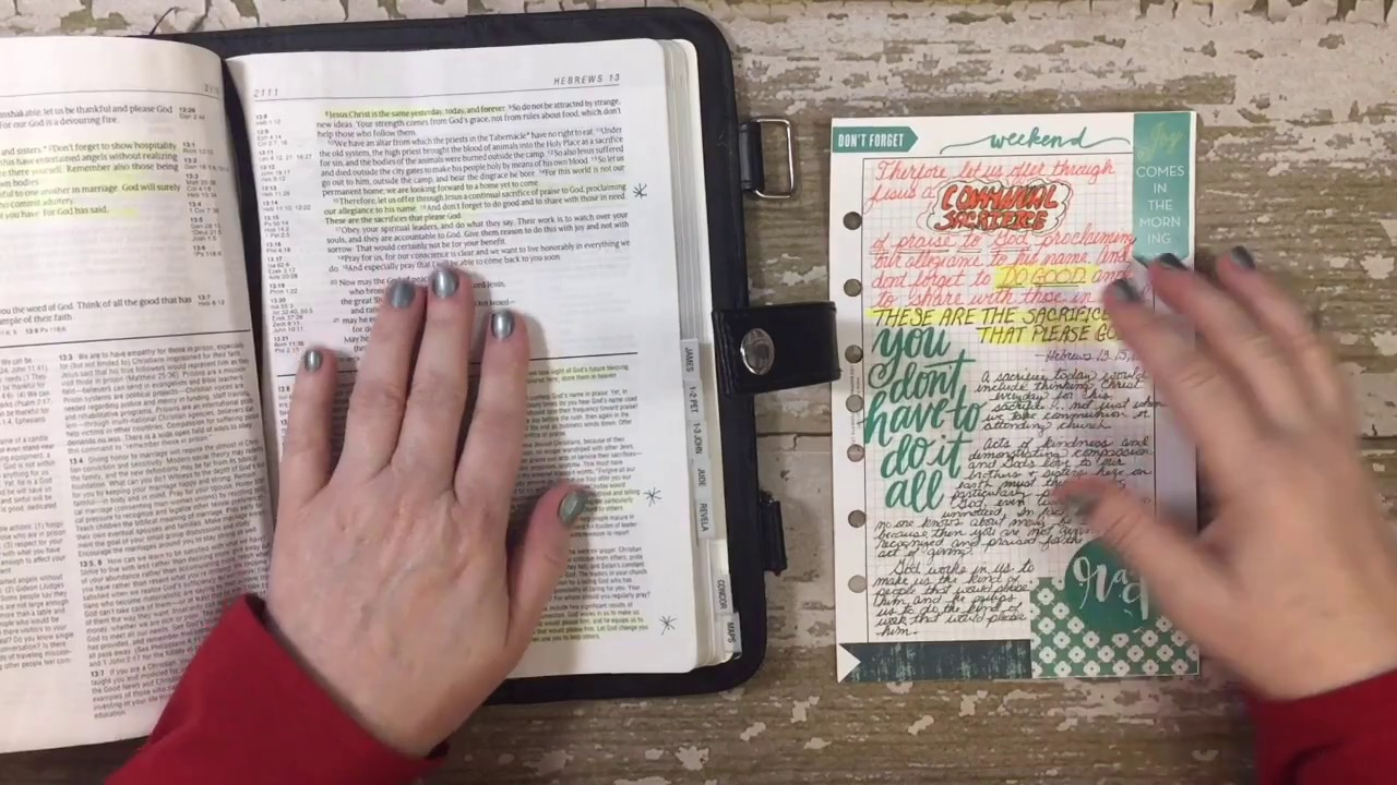Reference bible research paper